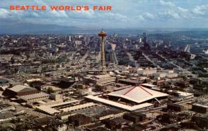 WA - Seattle World's Fair, 1962. Aerial View