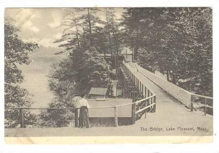 The Bridge, Lake Pleasant, Massachusetts,PU-1913