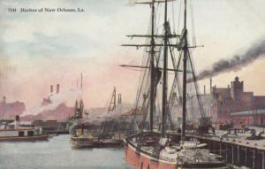 NEW ORLEANS, Louisiana, 1900-10s ; Harbor