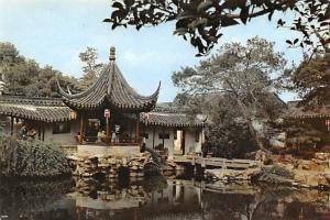 Soochow China Waterside Pavilion Fisherman's Garden Soochow Waterside Pavilio...