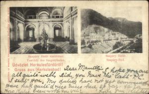 Szapary Furdo Szapary-Bad Hungar c1905 Used Postcard