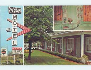 Pre-1980 ZIEGLER MOTEL New Bern NC ho4599