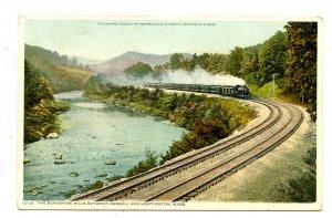 MA - Huntington. Berkshire Hills, Train