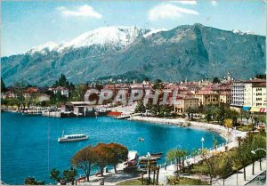 Modern Postcard Locarno Lungolago II