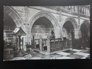 LIVERPOOL Cathedral Lady Chapel Choir & Lectern c1918 RP Postcard by R.R. Madsen