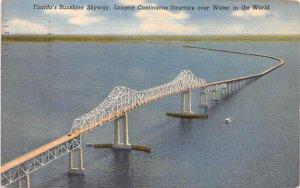 Sunshine Skyway Bridge Florida, USA 1961