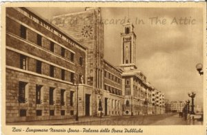 Bari Seacrest National Park Sauro palace of public works Italy Vintage Italian