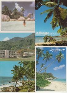 SEYCHELLES ISLANDS 23 AFRIQUE Cartes Postales 1960-1990.