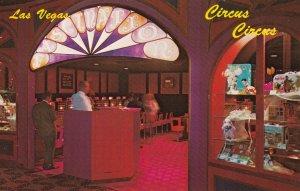 LAS VEGAS, Nevada, 1940-60s; Circus Circus on the STRIP Game of bingo in li...