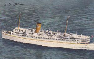 Florida S S Florida Nassau Cruise P & O Steamship Company
