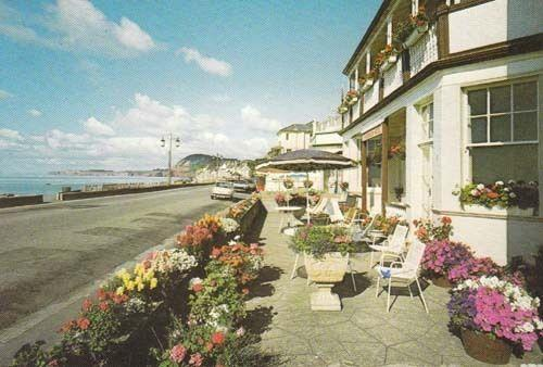 Sidmouth Kingswood Hotel Devon Photo Postcard