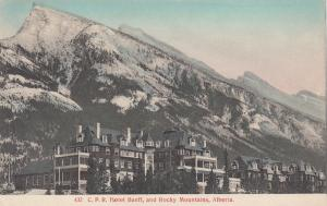 ALBERTA, Canada , 00-10s; C.P.R. Hotel Banff and Rocky Mountains