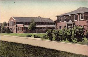 Arkansas Searcy Gymnasium & Administration Building Morris School Handcolored...