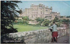 AYRSHIRE, Scotland, 1950-1960s; Culzean Castle, Man Wearing A Kilt