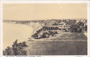 MANOMENT, Massachusetts, PU-1926; The Bluffs Looking South