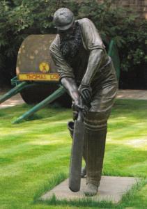 WC Grace Victorian Cricketer Louie Lawmen Statue Lords Cricket Ground Postcard