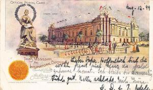 Trans-Mississippi Exposition Liberal Arts Building 1898 Postalcard