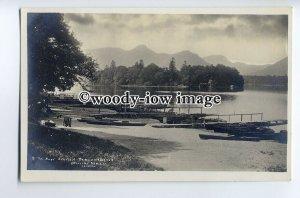 tp9045 - Cumbria - Derwentwater Boat Station & Named Berths, 2,3,& 5. - postcard