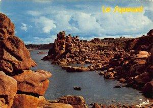 France Cote de Granit Rose Ploumanach The Squewel Rock Postcard