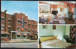 Quebec (LA TUQUE) Hotel Royal on Route 19 1950s-1970s