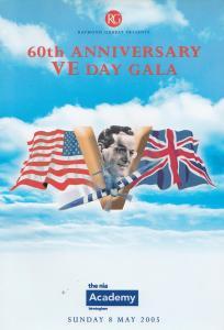 Glenn Miller 60th Anniversary VE Day Gala Cilla Black Birmingham Programme