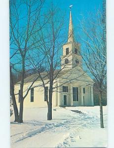 Pre-1980 CHURCH SCENE Sturbridge - Near Worcester Massachusetts MA G3922