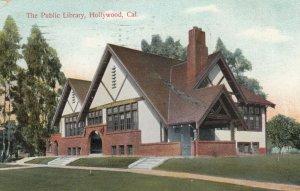 HOLLYWOOD , California, 1910 ; Public Library