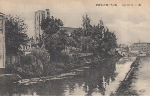 ESTAIRES, France, 1910-1920s, Une vue de la Lys