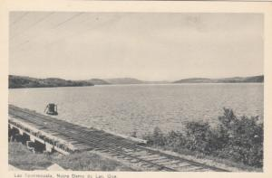 LacTemiscouata , Railroad bridge , NOTRE DAM DU LAC , Quebec , Canada , 1930s