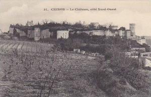 CHINON, Le Chateau, cote Nord-Ouest, Indre et Loire, France, 00-10s
