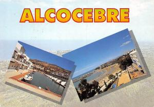 Spain Alcocebre Harbour Boats Promenade Plage Beach Swimming Pool
