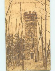Unused Divided-Back RETREAT TOWER Brattleboro Vermont VT H5587