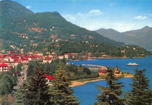 Switzerland Verbania Intra Lago Maggiore General view lake Postcard