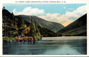 New Hampshire White Mountains Franconia Notch Echo Lake