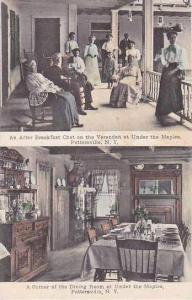 New York Pottersville Under The Maples Breakfast & Dining Room