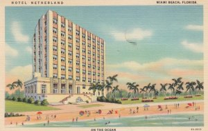MIAMI BEACH , Florida, 1930-40s ;  Hotel NETHERLAND