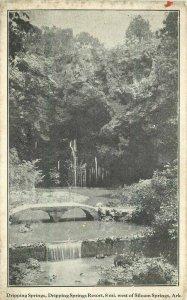 C-1910 Dripping Springs Resort Siloam Springs Arkansas Postcard 20-6673