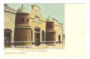 Public Jail, Ciudad Juraz, Mexico, Pre 1907