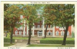 The Parker Inn, Albion, Michigan, PU-1927