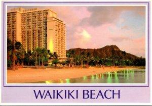 Hawaii Waikiki Beach and Diamond Head