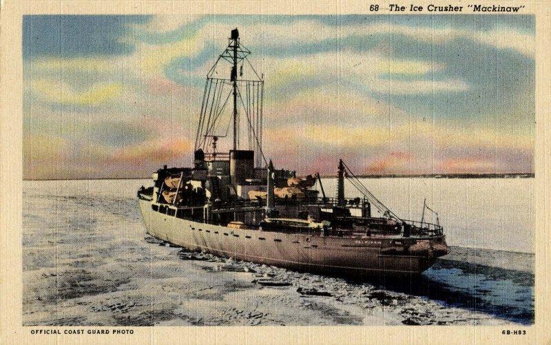 Ice Crusher Mackinaw