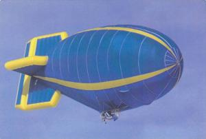Blue & Yellow Blimp, Airship PC #9