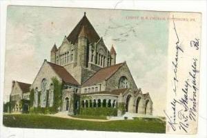 Christ Methodist Church, Pittsburg, Pennsylvania, PU-1906