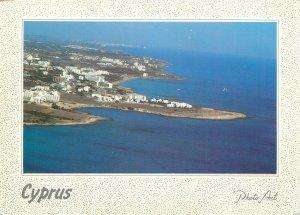 Cyprus Postcard Protaras beach aerial view