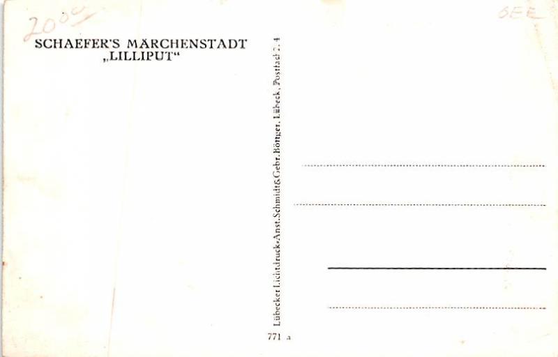 Schaefers Marchenstadt Lilliput Unused