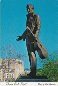 Elvis Presley Bronze Statue On Beale Street Memphis Tennessee