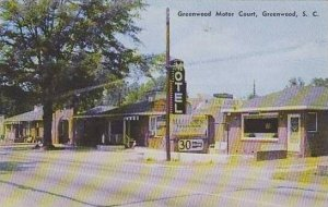 South Carolina Greenwood Greenwood Motor Court