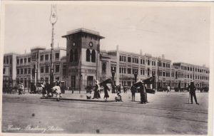 RP ; Cairo , Egypt , 20-30s ; Railway Station