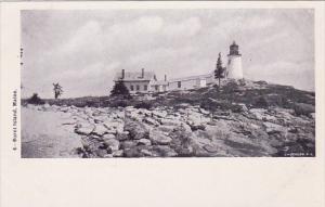 Lighthouse Burnt Island Maine