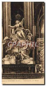 Postcard Old Cathedral of Chartres E and L Assumption by